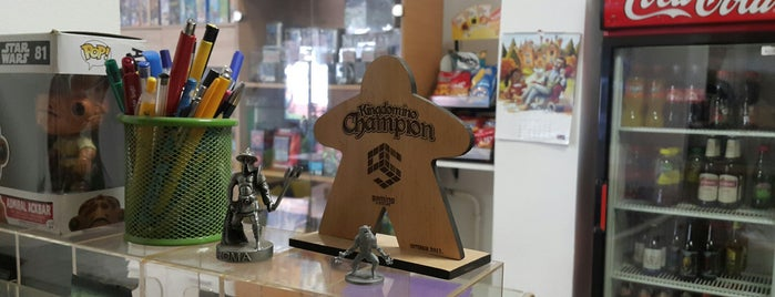 Gaming Centar is one of Board Game Cafes.