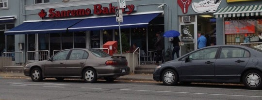 SanRemo Bakery is one of Etobicoke Eateries.