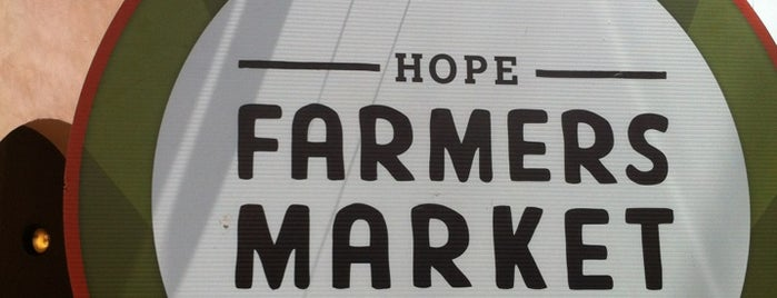 HOPE Farmers Market is one of Orte, die Brian gefallen.