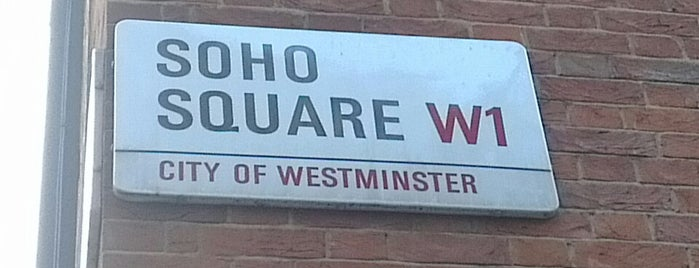 Soho Square is one of London, UK.