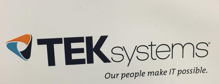 TEKsystems is one of Lieux qui ont plu à Cameron.