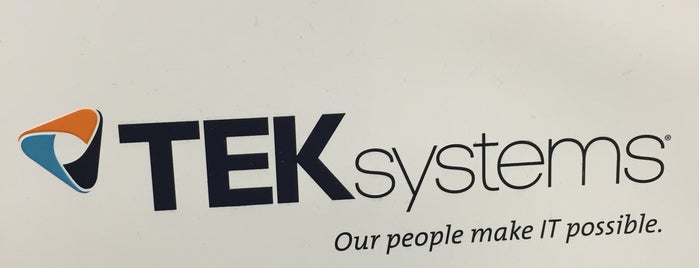 TEKsystems is one of สถานที่ที่ Cameron ถูกใจ.