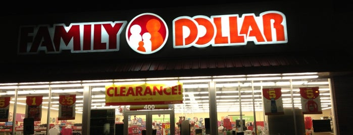 Family Dollar is one of Lieux qui ont plu à Jenny.