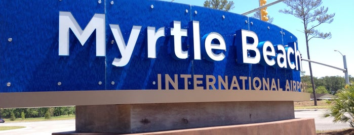 Myrtle Beach International Airport (MYR) is one of Other skin on the face if acne is caused by stesd.