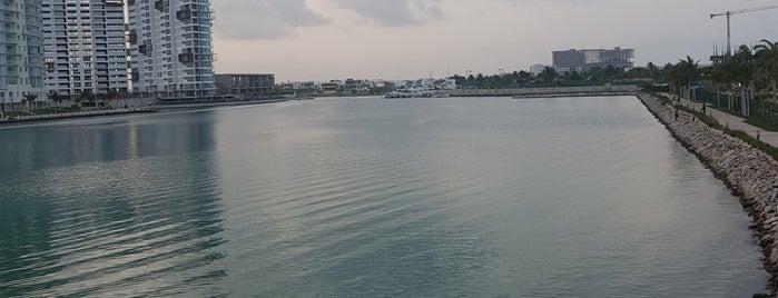 Puerto Cancún is one of Orte, die Fabrizio gefallen.