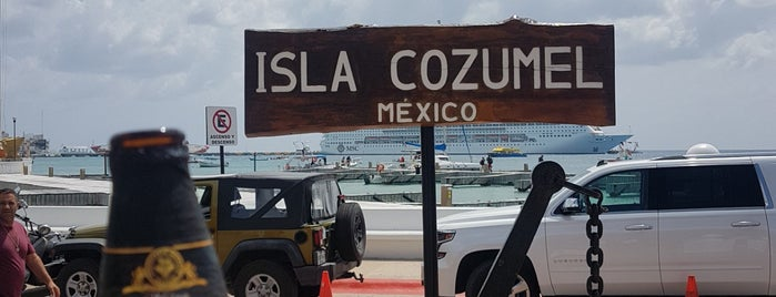 Cozumel is one of México.
