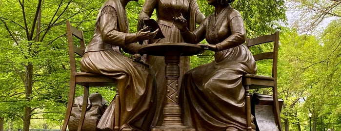 Women's Rights Pioneers Statue is one of Do: NYC ☑️🆕.