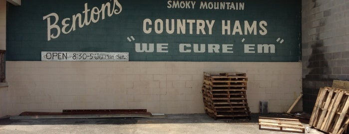 Benton's Smokey Mountain Country Hams is one of Gallivant-ing.
