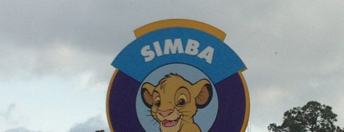 Simba Parking Lot is one of Transportation & Misc Disney World Venues.