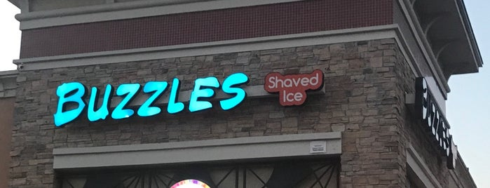 Buzzles Shaved Ice is one of Brenda 님이 좋아한 장소.