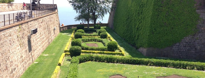 Castillo de Montjuic is one of Barcelona's Best Great Outdoors - 2013.