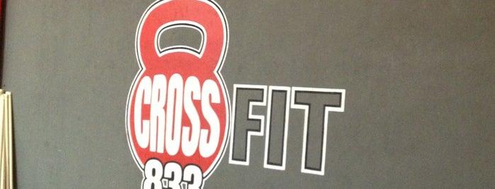 Crossfit 833 is one of สถานที่ที่ Flor ถูกใจ.