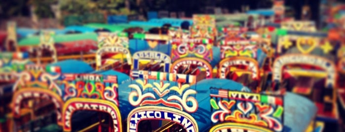 Xochimilco is one of THINGS TO CHECK OUT IN MEXICO CITY.