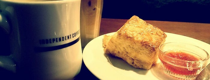 INDEPENDENT COFFEE is one of Selineさんの保存済みスポット.