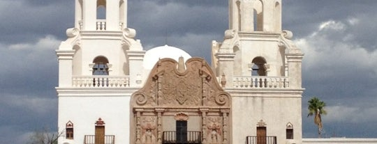 Mission San Xavier del Bac is one of Historic America.