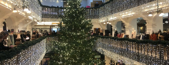 House of Fraser - Jenners is one of Edinburgh - to do.