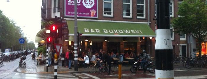 Bar Bukowski is one of Bruxelas & Amsterdam.