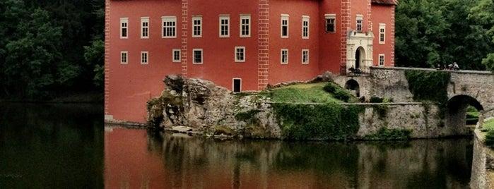 Zámek Červená Lhota is one of Чехия окресности.
