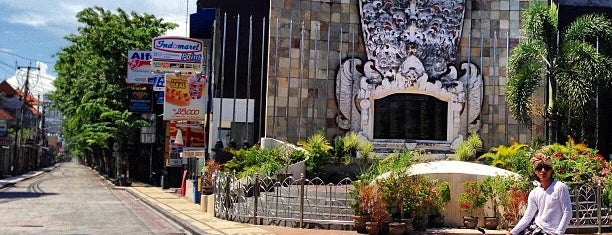 The Bali Bombing Memorial (Ground Zero Monument) is one of Tempat yang Disimpan Roes.