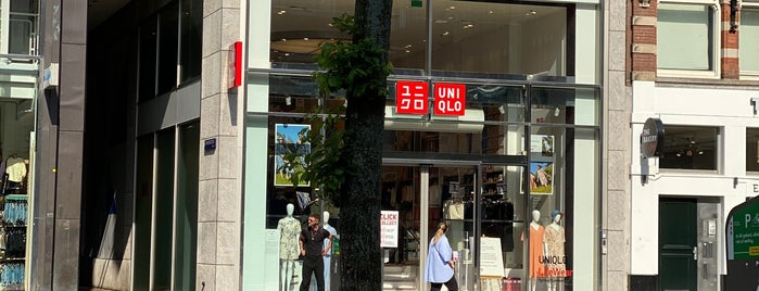 UNIQLO is one of Amsterdam.