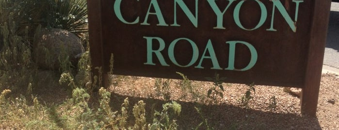 Canyon Road Galleries is one of CBS Sunday Morning.