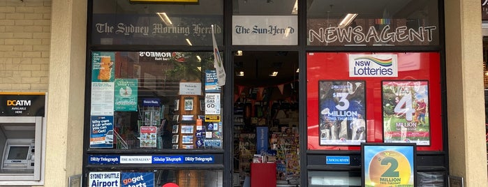 Oxford Street Newsagency is one of Marcusさんのお気に入りスポット.