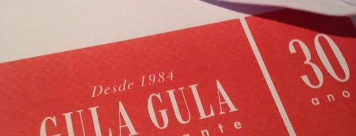 Gula Gula is one of Locais curtidos por Marcello Pereira.