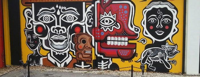 The Wynwood Walls is one of Miami, FL.