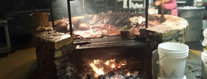 The Salt Lick is one of Man vs Food Spots Texas.