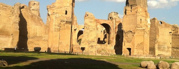 Caracalla-Thermen is one of Roma.