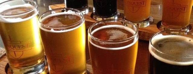 Conquest Brewing Company is one of Lugares favoritos de Curt.