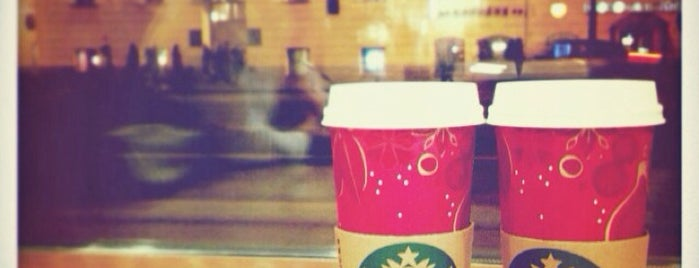 Starbucks is one of Locais curtidos por Sasha.