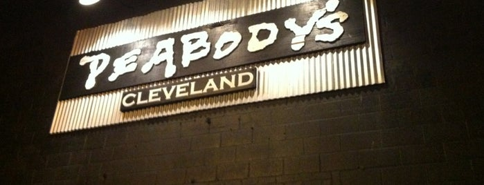 Peabody's Concert Club is one of CLE.