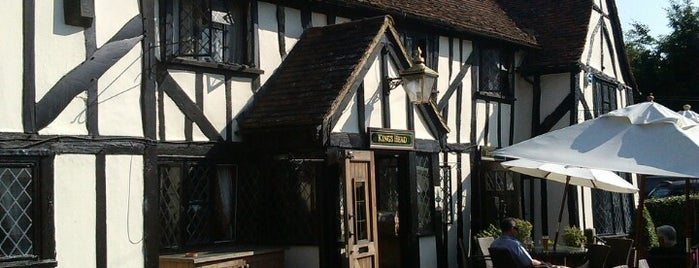 The Kings Head is one of Tempat yang Disukai Carl.