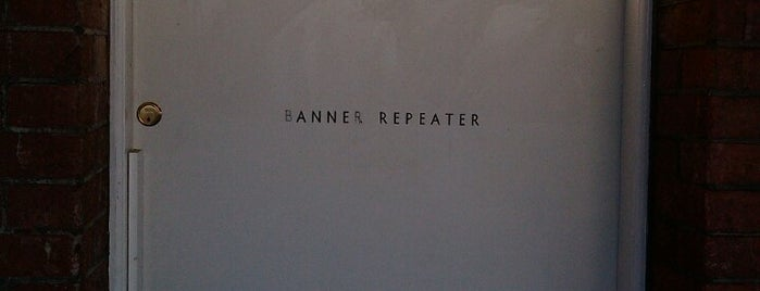 Banner Repeater is one of London's Art Galleries.