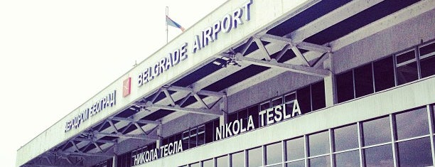 Nikola Tesla Airport is one of Lugares favoritos de Ivan.