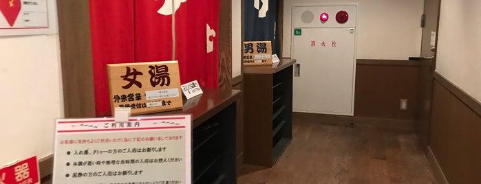 白山里 is one of 訪れた温泉施設.