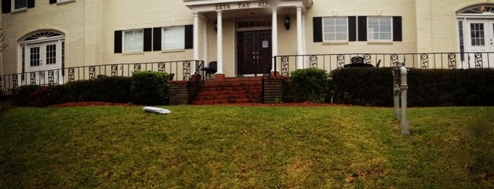 Zeta Tau Alpha Sorority is one of Tempat yang Disimpan Lauren.