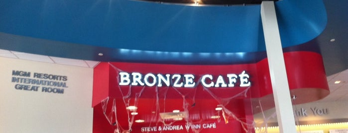 Bronze Cafe is one of Vegan dining in Las Vegas.