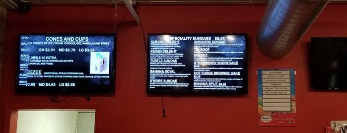 Diane's Ice Cream & Burgers is one of Orte, die Rudimus gefallen.