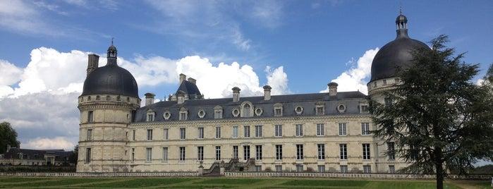 Château de Valençay is one of Châteaux de la Loire.