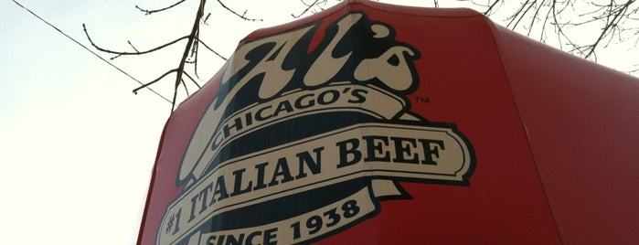 Al's Italian Beef is one of Locais salvos de Aris.