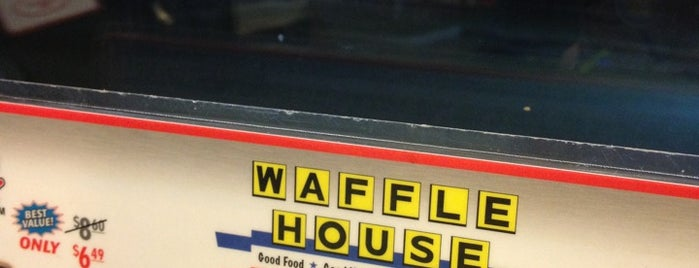 Waffle House is one of Favorite Food.