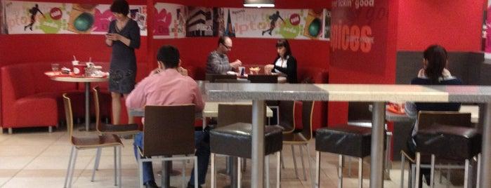 KFC is one of Orte, die Роман gefallen.