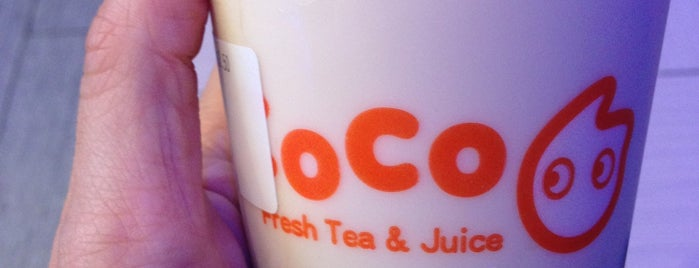 CoCo Fresh Tea & Juice is one of Flatiron/Nomad.