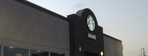 Starbucks is one of by necessity, not necessarily by choice (1 of 2).