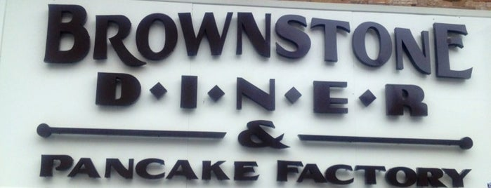 Brownstone Diner & Pancake Factory is one of Diners, Drive-Ins, and Dives.
