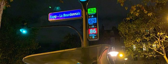 Arrêt Rapp - Bourdonnais [42,69,87] is one of Paris ♡..