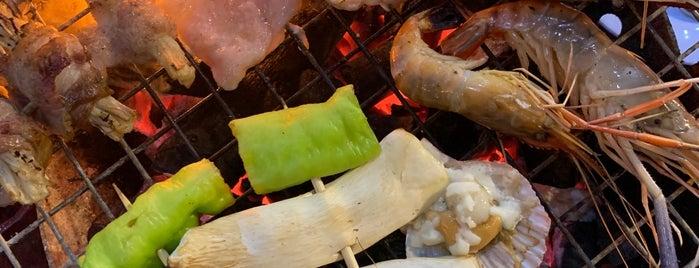 ตะลุยเตา บุฟเฟต์ทะเลเผา is one of KKU food.