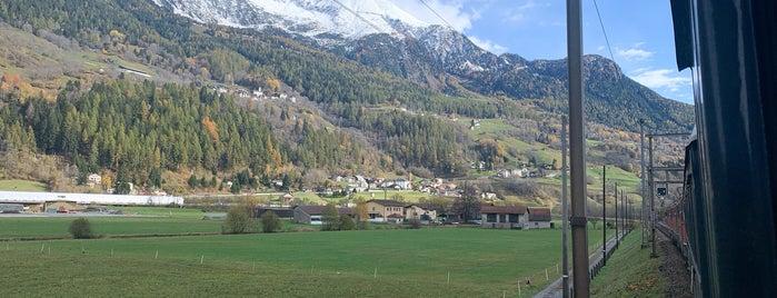 Swiss Alps is one of Lieux qui ont plu à Maria.